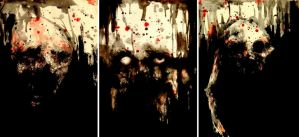 Triptych of Shadows by PriestofTerror