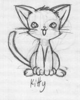 The cutest kitten Ive drawn by rongs1234