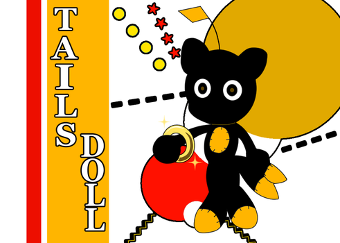 -STH Silhouette_Tails Doll- by Biko97