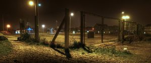 Gate Corner by wreck-photography