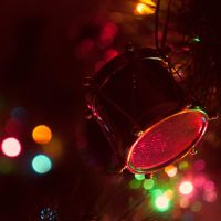 Christmas Bokeh by Xandriia1
