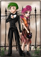 FOP - Jack and Sally by bradsgurl
