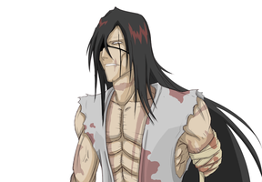 Future Kenpachi WIP by Arrancarfighter