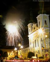 Fireworks at Targu-Mures.nr.2 by sanie-photography