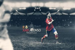 xabi alonso by milad10