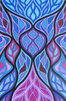 Stained Glass #27 by KyleWilcoxVisualArt