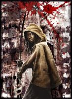 Walking Dead Michonne by BGorilla