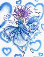 Contest:- Spread blue hearts - by bluefire05