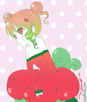 Strawberry girl by yume