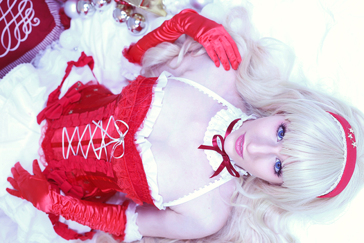 Sheryl - Merry Christmas II by polycrystal