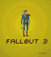 Pixel Art Fallout 3 by Loweak