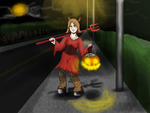 Tia-halloween contest by J4B