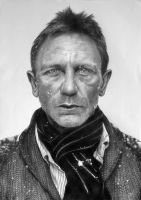 Portrait of Daniel Craig by arcitenens