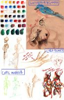Medium Sketchdump by TheGoldenGizmet