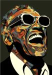 Ray Charles by eosvector