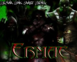 Ermac AHCK by ArcanaHunkCamreKaenz