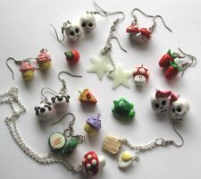 Kawaii Jewelry by crazy-fae