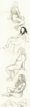 Life Drawing 001 by OddKitty