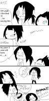 Uchiha Family Problems by LainaofthesandLOL