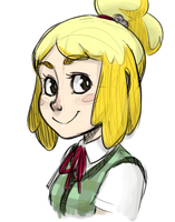 Lovely Isabelle by thelivingmachine02