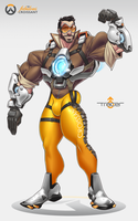 Overwatch: Tracer Genderbend by TheFabulousCroissant