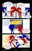Sonic's 20th Birthday--page 2 by SonicFF