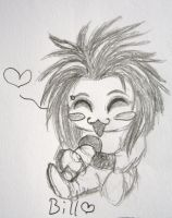 Bill Chibi from Tokio Hotel by karovie