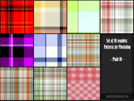 PS Pattern - Plaid 01 by halmtier