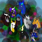 Some awesome people...er, dragons (WIPv2) by ThisPoisonedOne