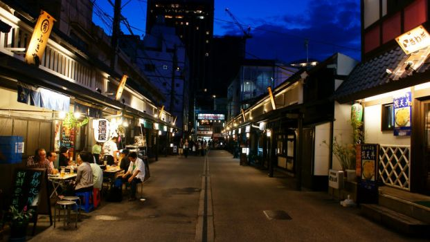 Nights on Street in Asakusa by shawnical