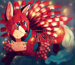 Lionfish Fox by revois