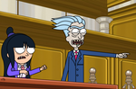Rick and Morty in: Courtroom Drama! by SuperMaster10