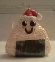 Christmas Onigiri Ornament by LadyIlona1984