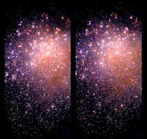 Fireworks Display 3D ::: HDR Cross-Eye Stereoscopy by zour