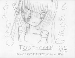 Choxie's Togichan Demotivation by choxie-chan