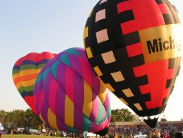 balloon fest f by ItsAllStock