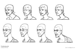 Faces Page by jrumpff