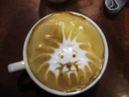Latte Lion by 2antoinette2
