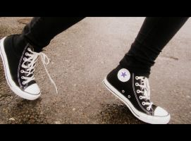 Walking in my converse......2 by Pidon-animal