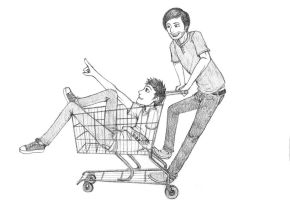 To The Supermarket by Squashbee