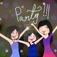 Party Friends!!!! - Copia by Siulyvale