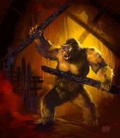13 Nights of Halloween 2013 Mighty Joe Young by Grimbro