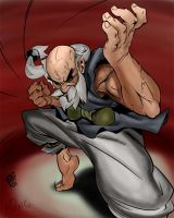 Gouken colors by p0ngbr