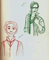 Les Mis Sketches 4 by marbri