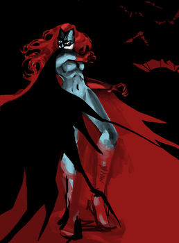 Batwoman by birthcontrolblues