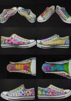 Creative shoes by Tash15