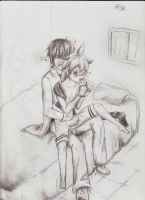 len X kaito not bed time yet by heey1888