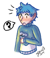 PMA: Super Late White Day Flower Reaction by Crystias