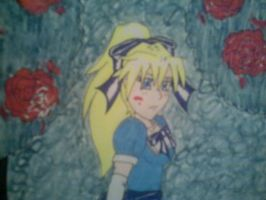 Alice Painting The Roses Red-2 by Hyrulekeyblade