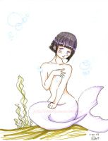 Hinata mermaid by otakitty